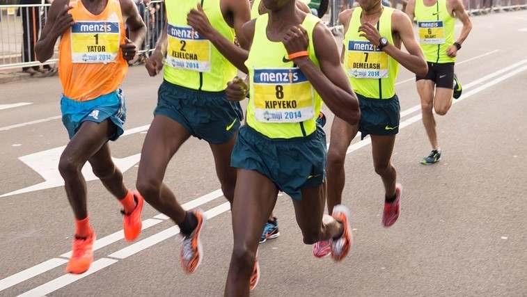 男性マラソンランナー 太くない